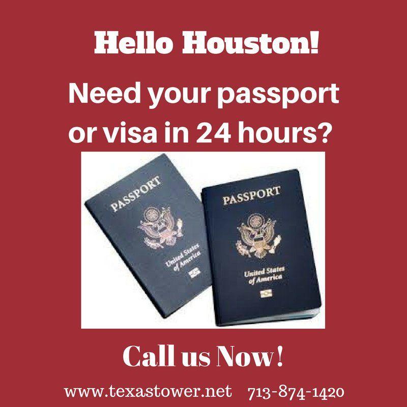 Good Morning Houston, TX! Need to renew your US passport