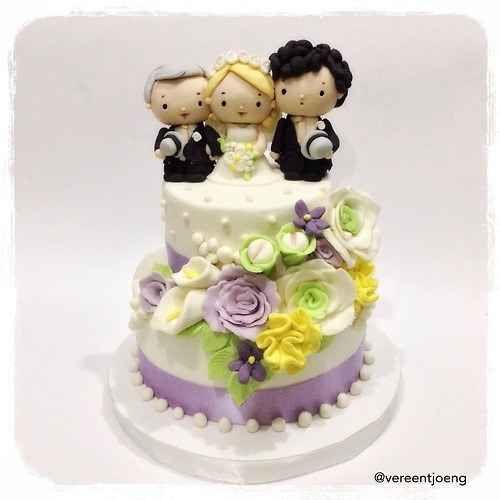 Sherlock | 19 Spectacularly Nerdy Wedding Cakes