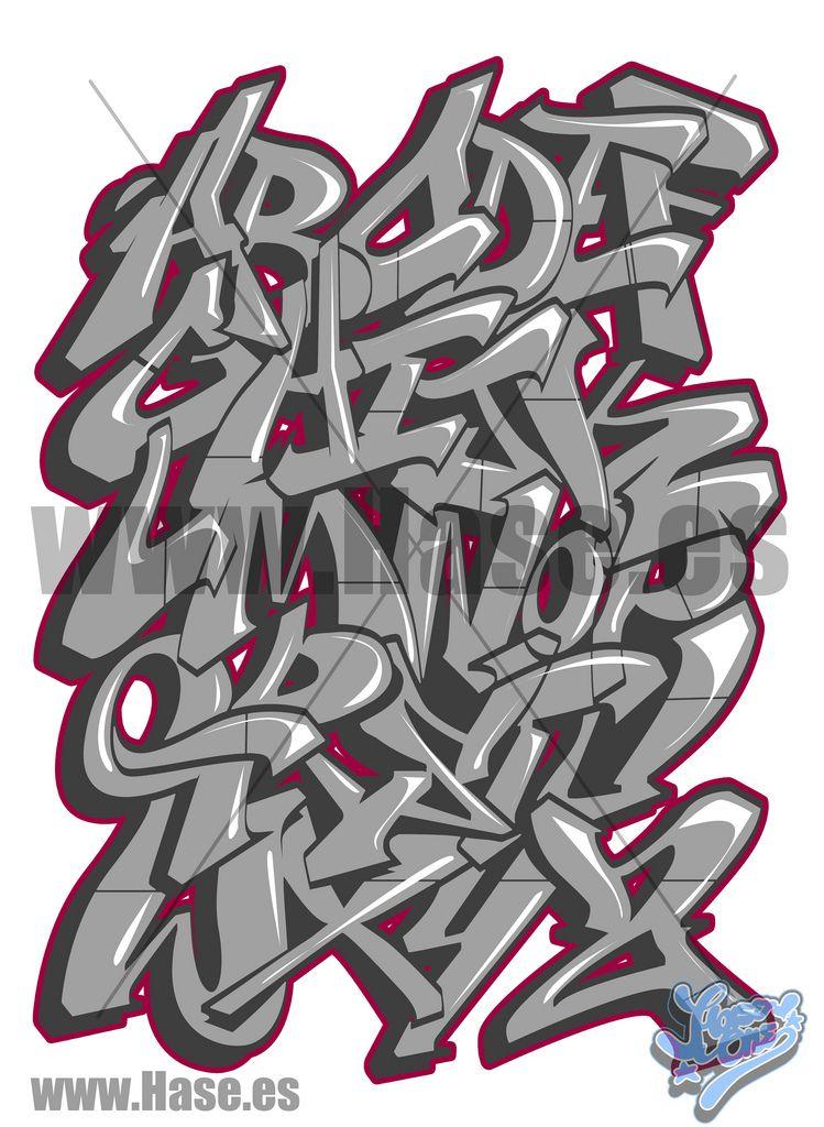 Fabuleux Abecedarios de graffitis – Letras de graffiti Abc | Graffiti  OP33