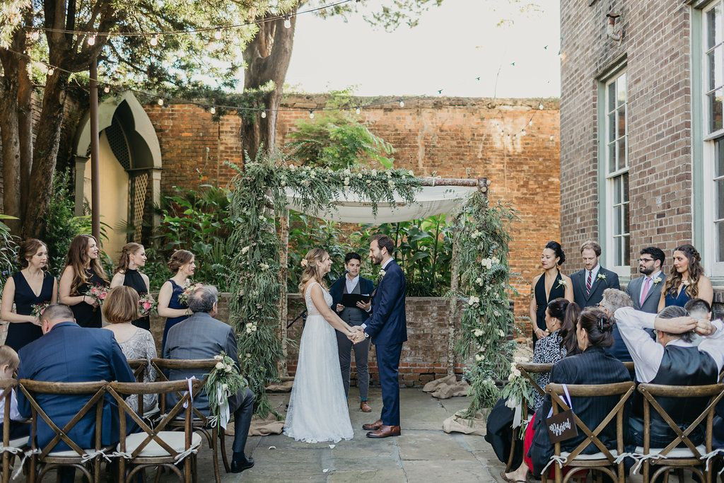 Monastery Wedding In New Orleans With My House Social Hannah Pickle Photography And Lovegood Wedding Event Rent New Orleans Wedding Wedding Ceremony Design