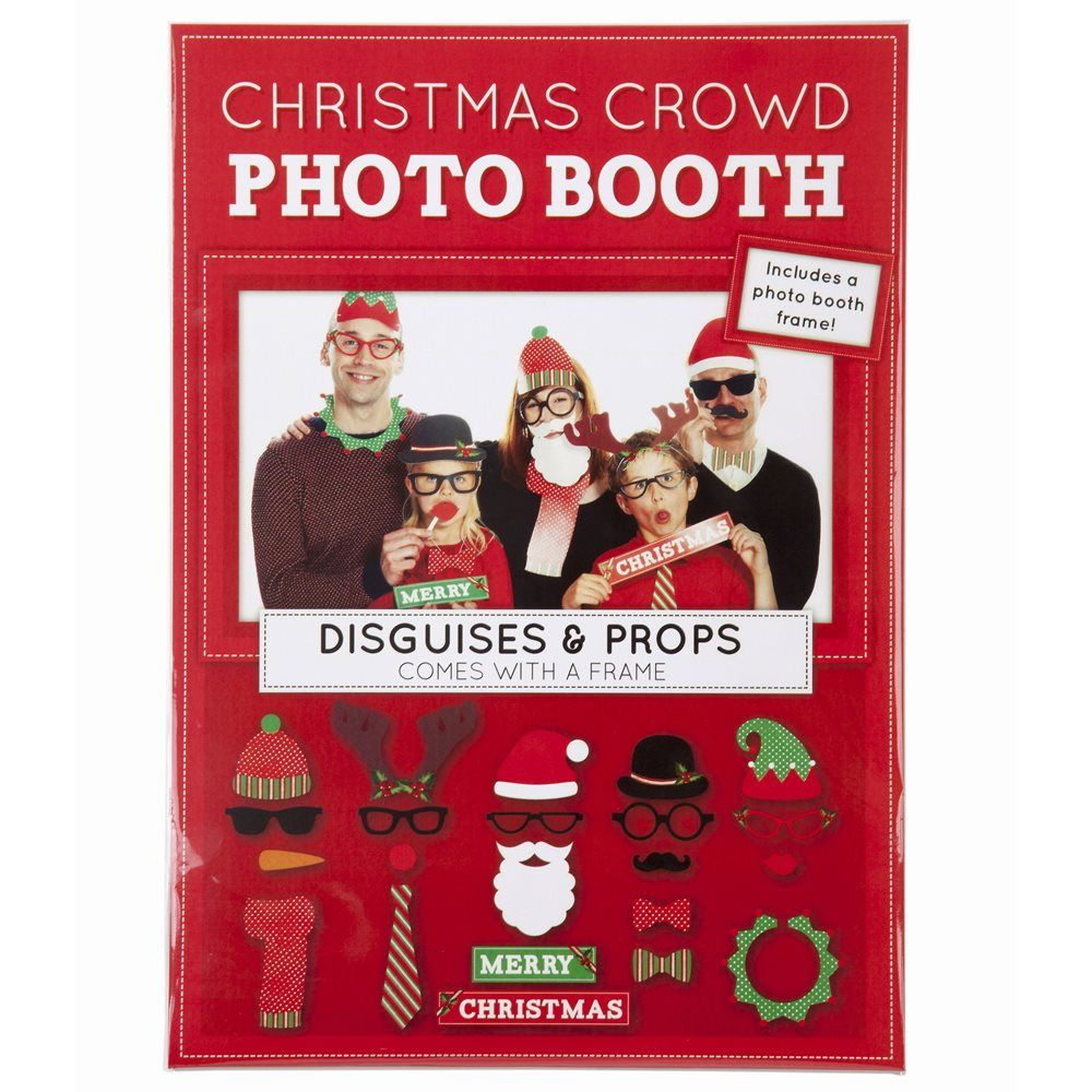 Talking Tables Christmas Photo Props Festive Family Photo Booth
