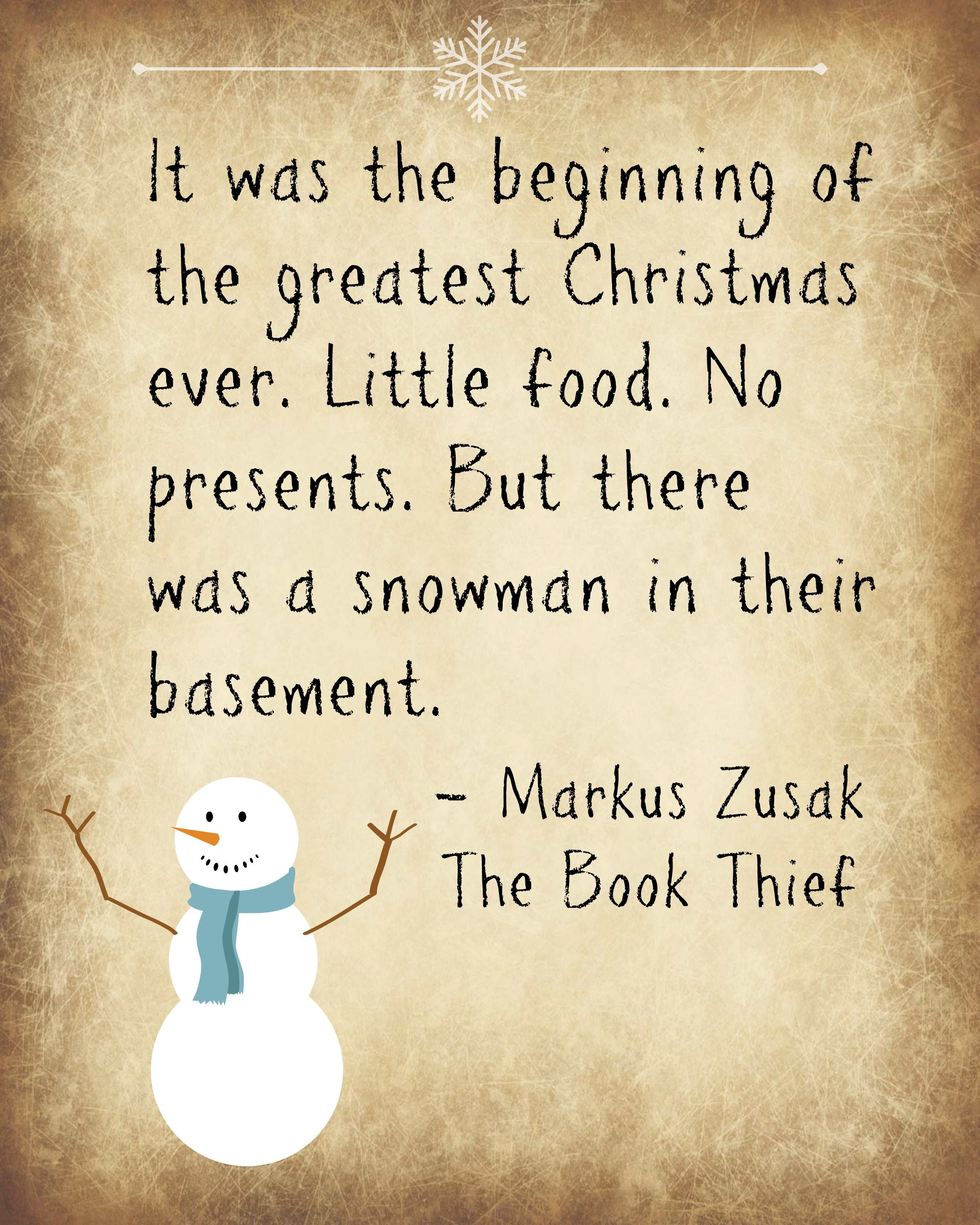 Christmas Book Quotes: Just About Anyone Would Have Thought This Was A Horrible