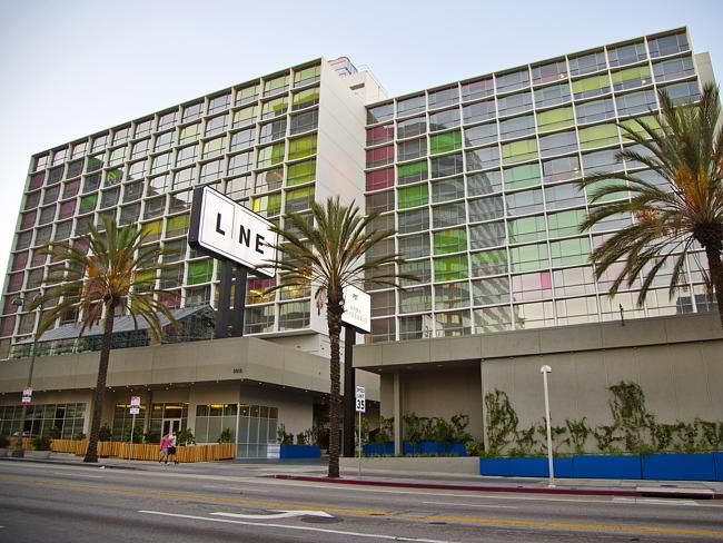 The Line Hotel in Koreatown. Los Angeles - www.