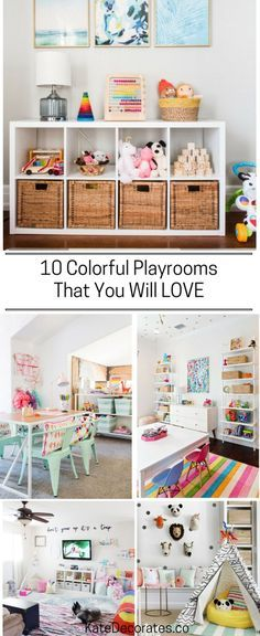 10 Amazing Kids Playroom Makeover Ideas You'll LOVE   Kate Decorates