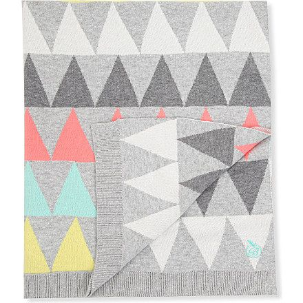 Bonnie Baby Geometric Knit Blanket Giftidea All The Cool Kids