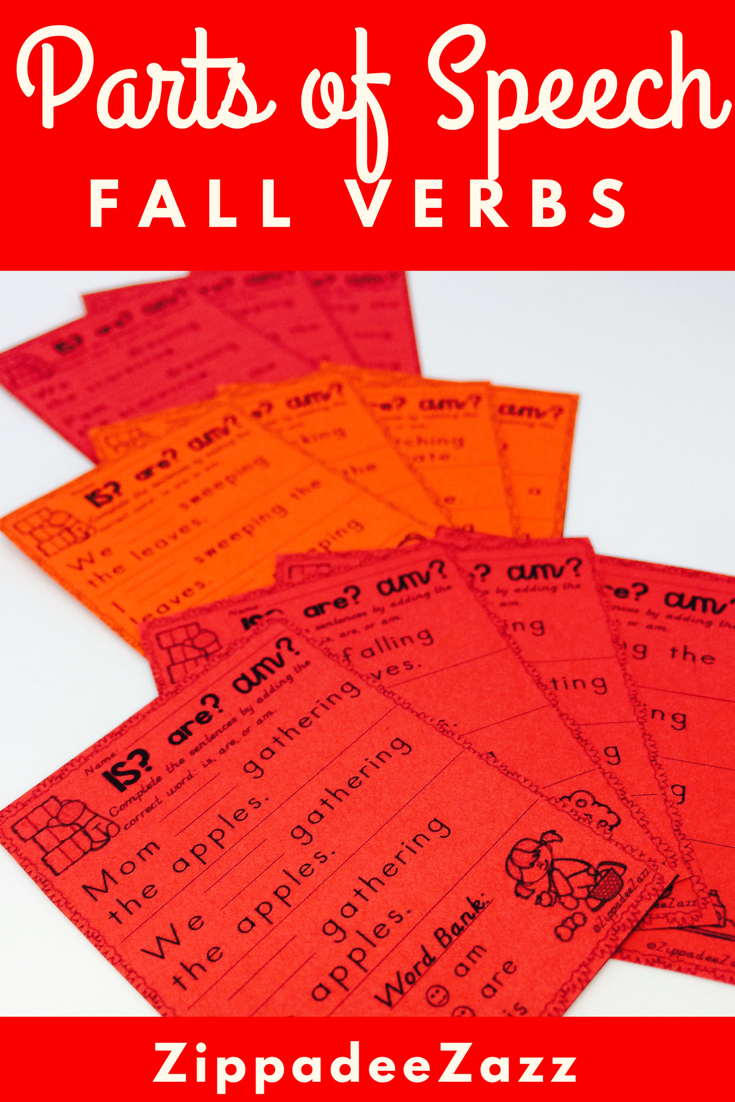 Worksheets For Parts Of Speech Verbs For Fall Parts Of Speech Parts Of Speech Worksheets Interactive Activities [ 1102 x 735 Pixel ]
