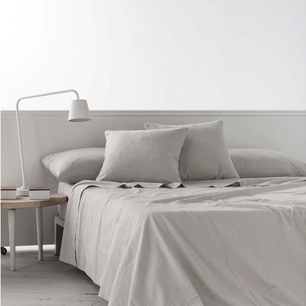 Top sheet Naturals Linen - UK super king size bed (270 x 270 cm)