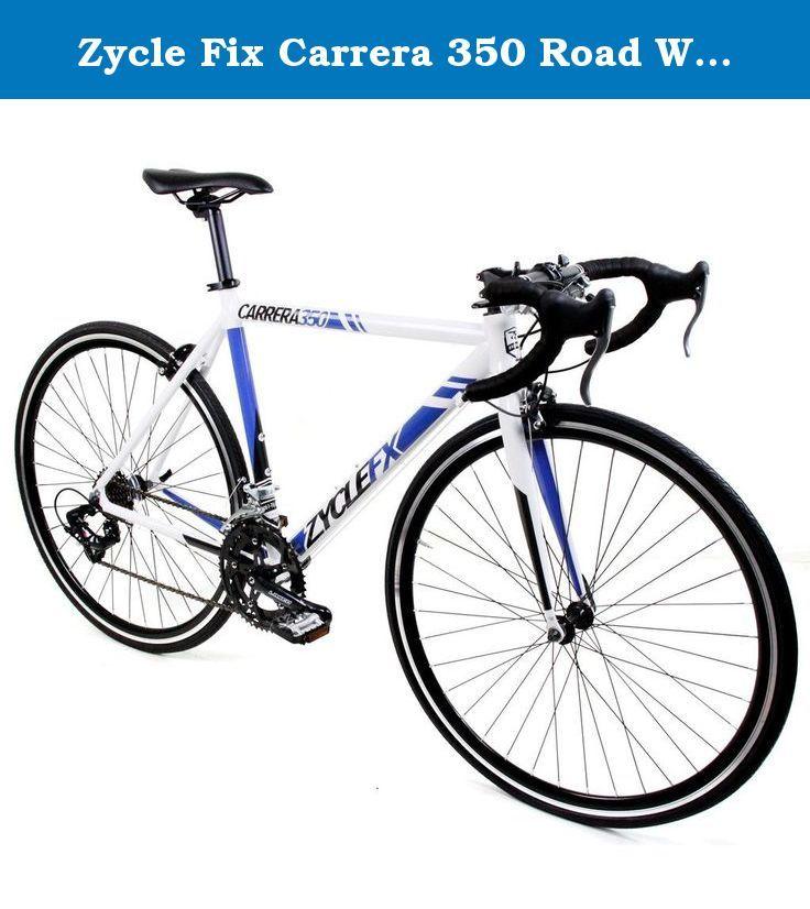 Zycle Fix Carrera 350 Road White 55 The Carrera 350 Road Bike