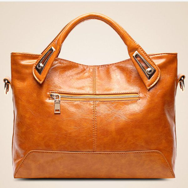 Women Leather Handbag Brands European And American
