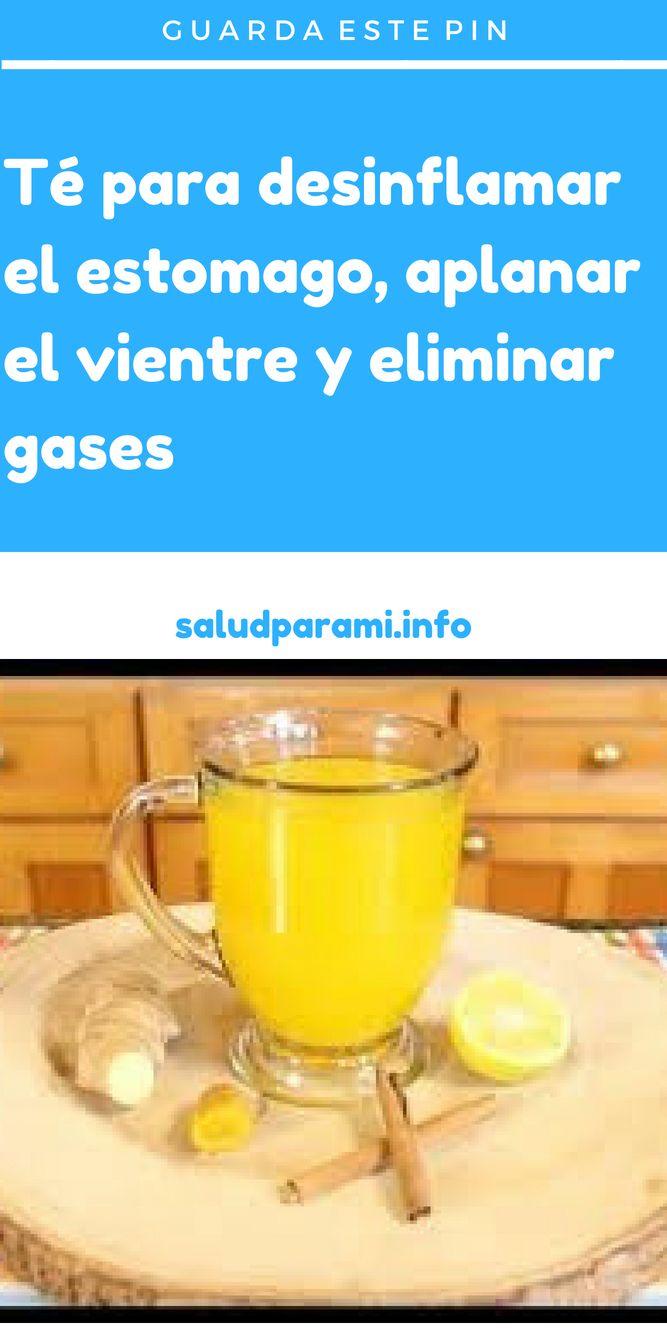 té para desinflamar el estomago aplanar el vientre y eliminar gases
