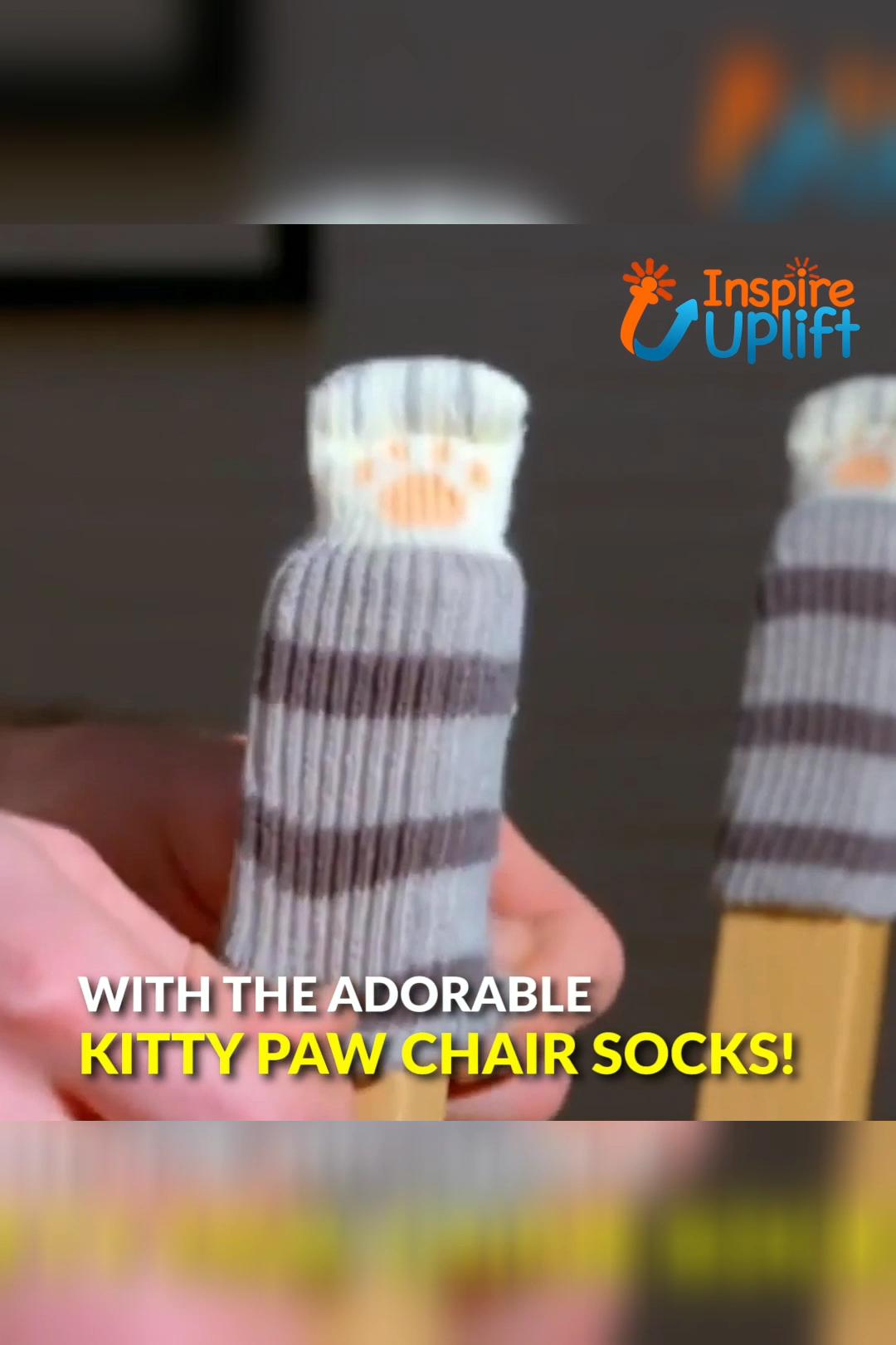 Photo of Kitty Paw Chair Socken 😍