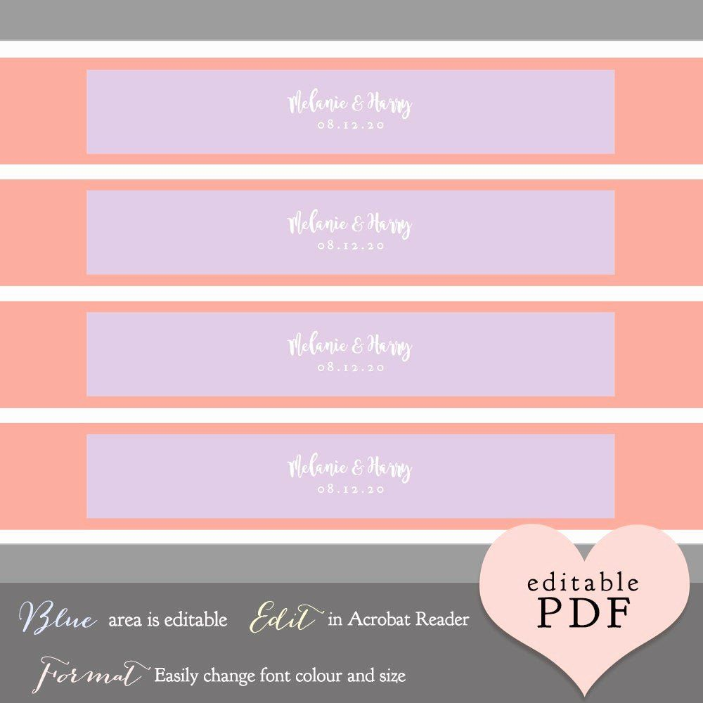 wedding invitation belly band template