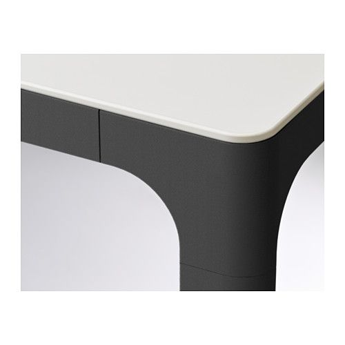 BEKANT Conference Table White Black - Ikea white conference table