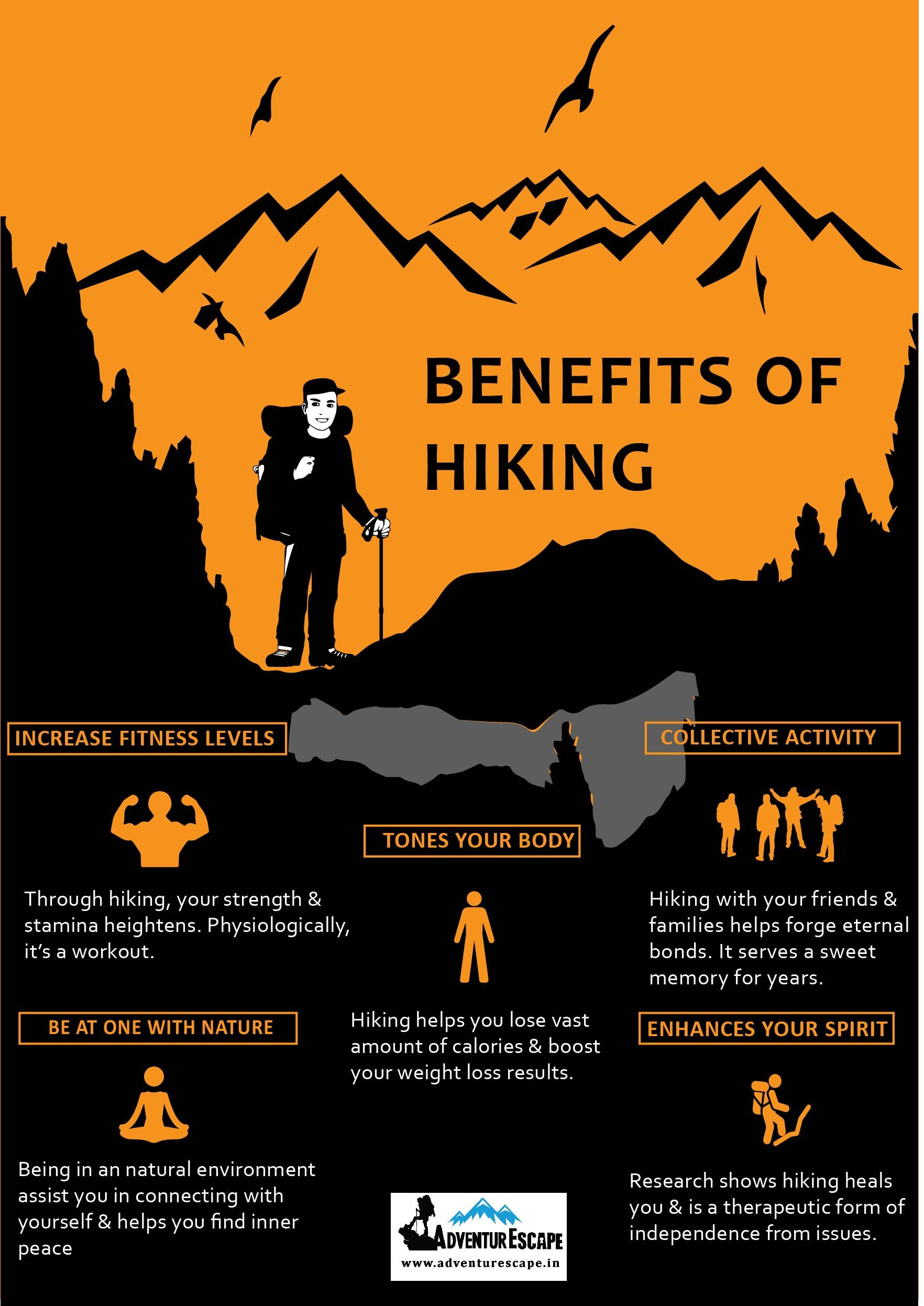Hiking is one of the easiest workouts to pick up because
