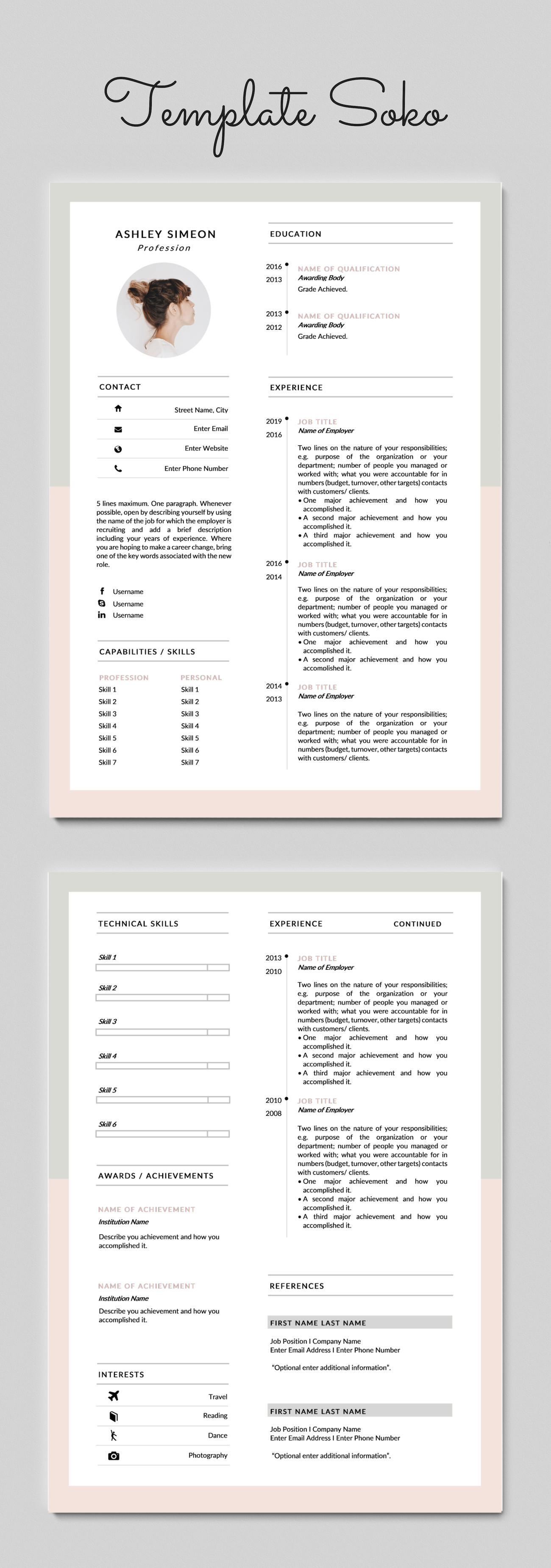Pin On Build A Resume Template