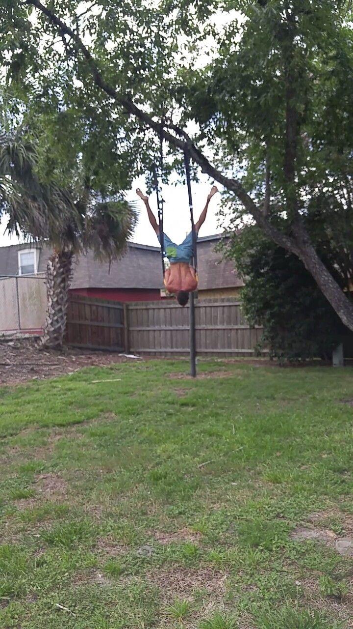 shoulder stand on gymnastics rings calisthenics street workout