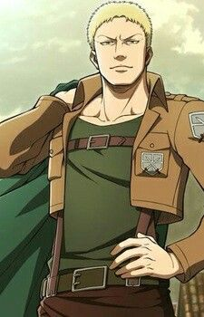 Reiner Braun Fave Crush Character Attack On Titan Aot