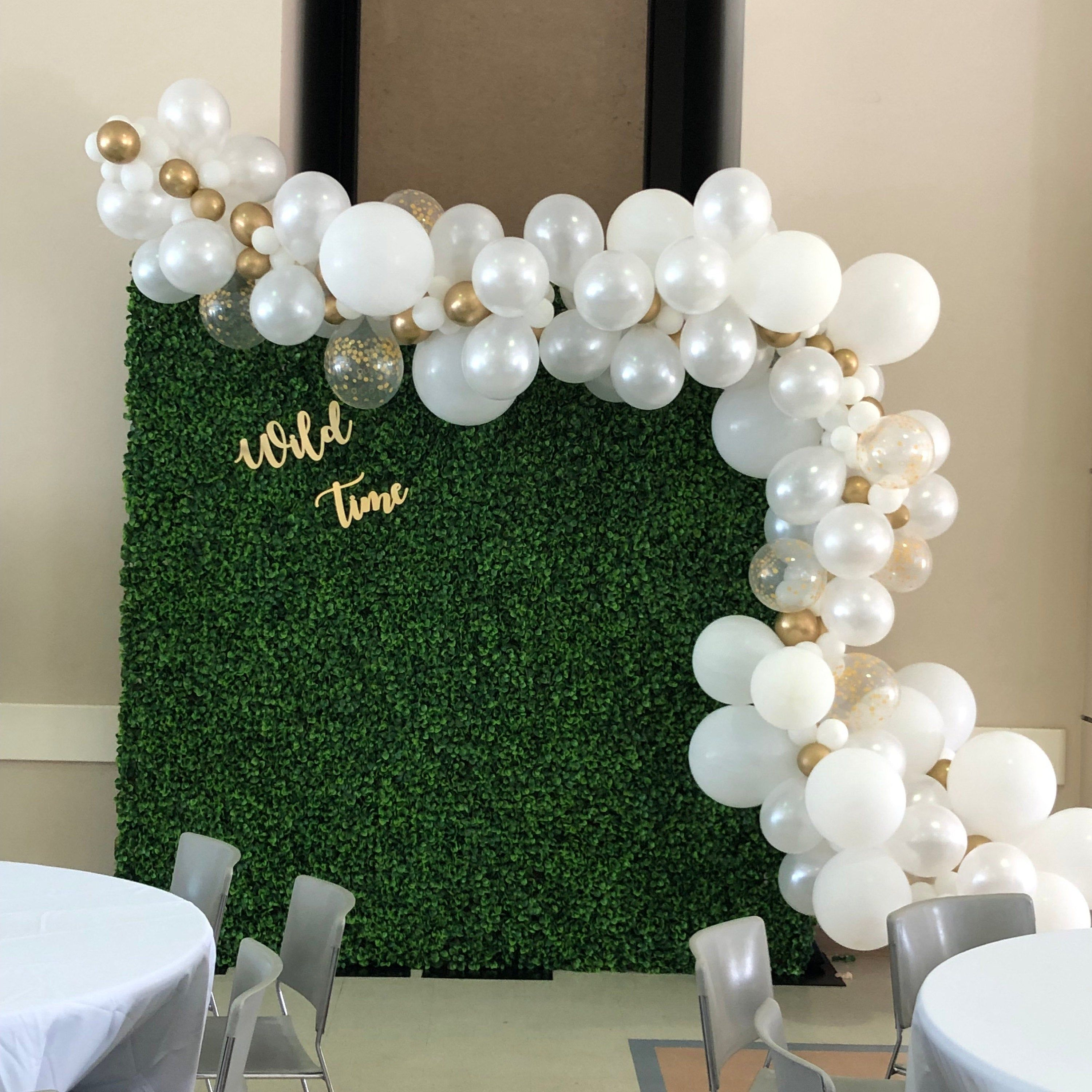 Boxwood Backdrop Rent Only Artificial Greenery Backdrop Etsy In 2020 Boxwood Backdrop Picture Backdrops Wall Backdrops