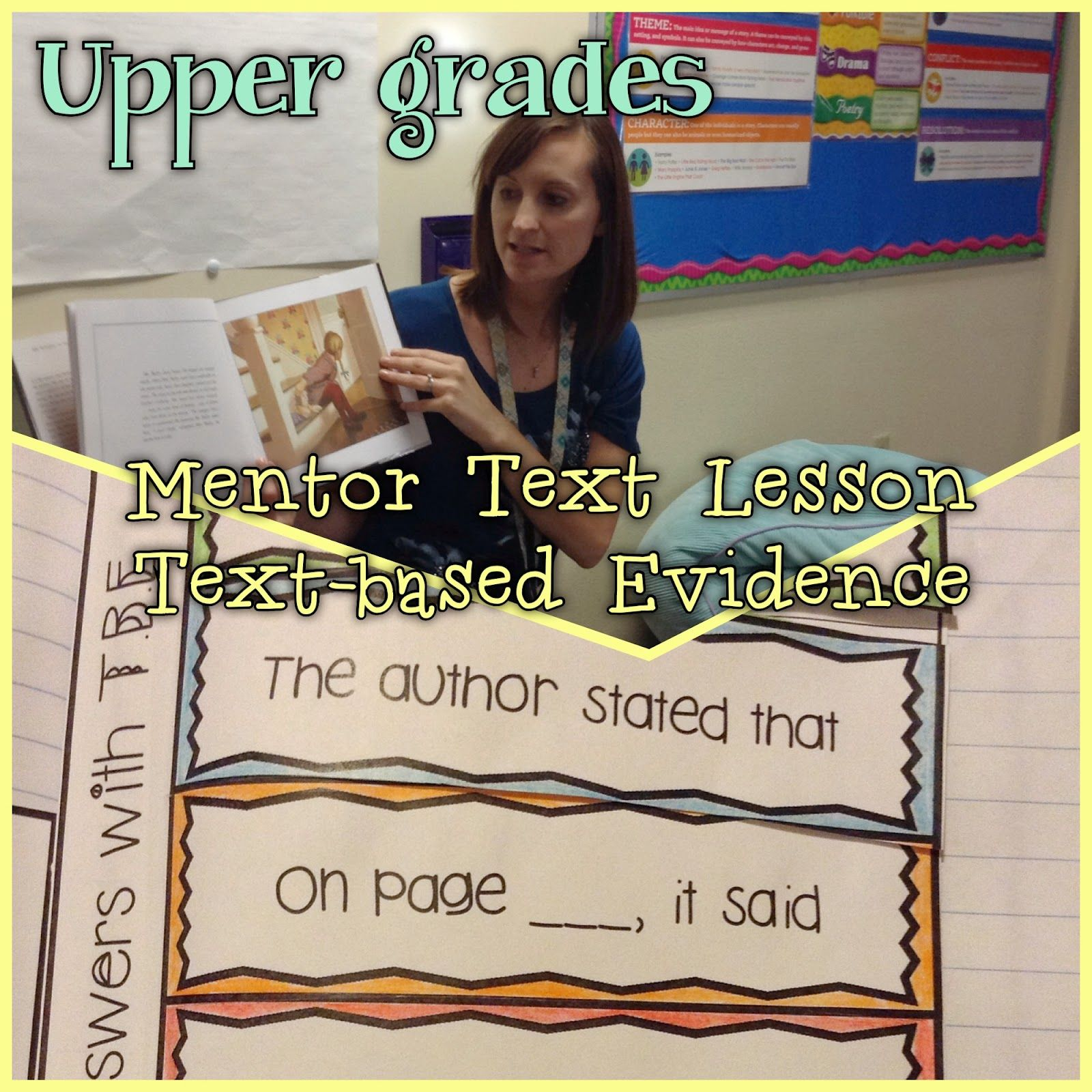 Mentor Text In The Upper Grades Great Tips For Using It