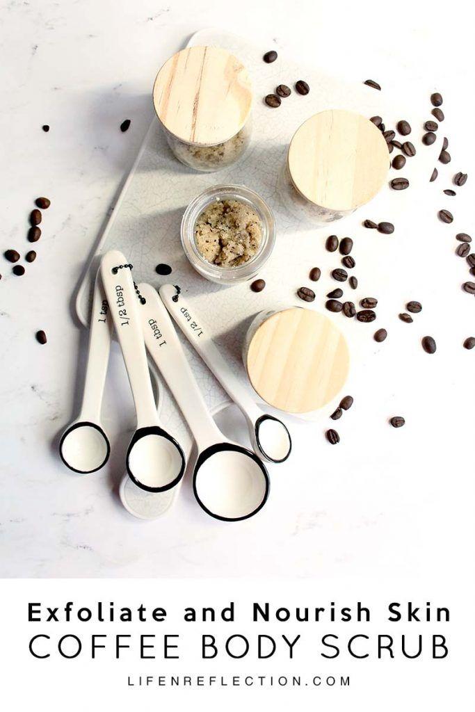Exfoliate and Nourish Skin with a Natural Skin Tightening Hazelnut Coffee Body Scrub