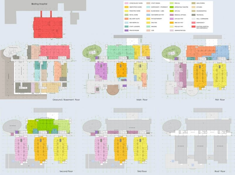 Urbanism Planning Architecture Al Qassimi Maternity Hospital Sharja Uae Stuff To Buy