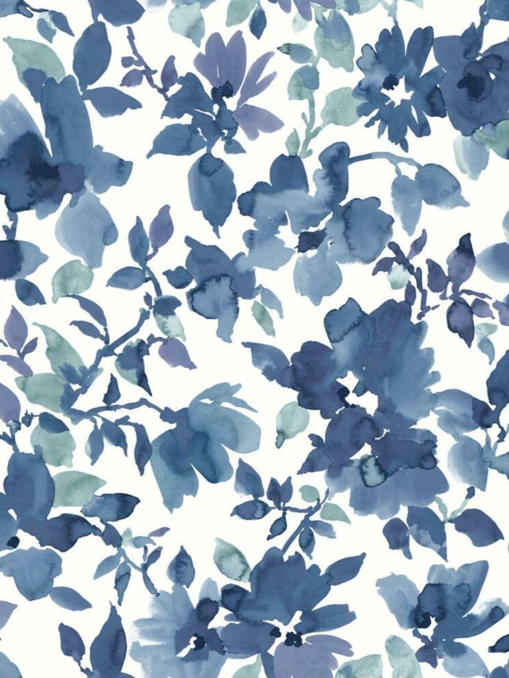Watercolor Floral Peel And Stick Wallpaper Wallpaper Background Design Spring Wallpaper Peel And Stick Wallpaper