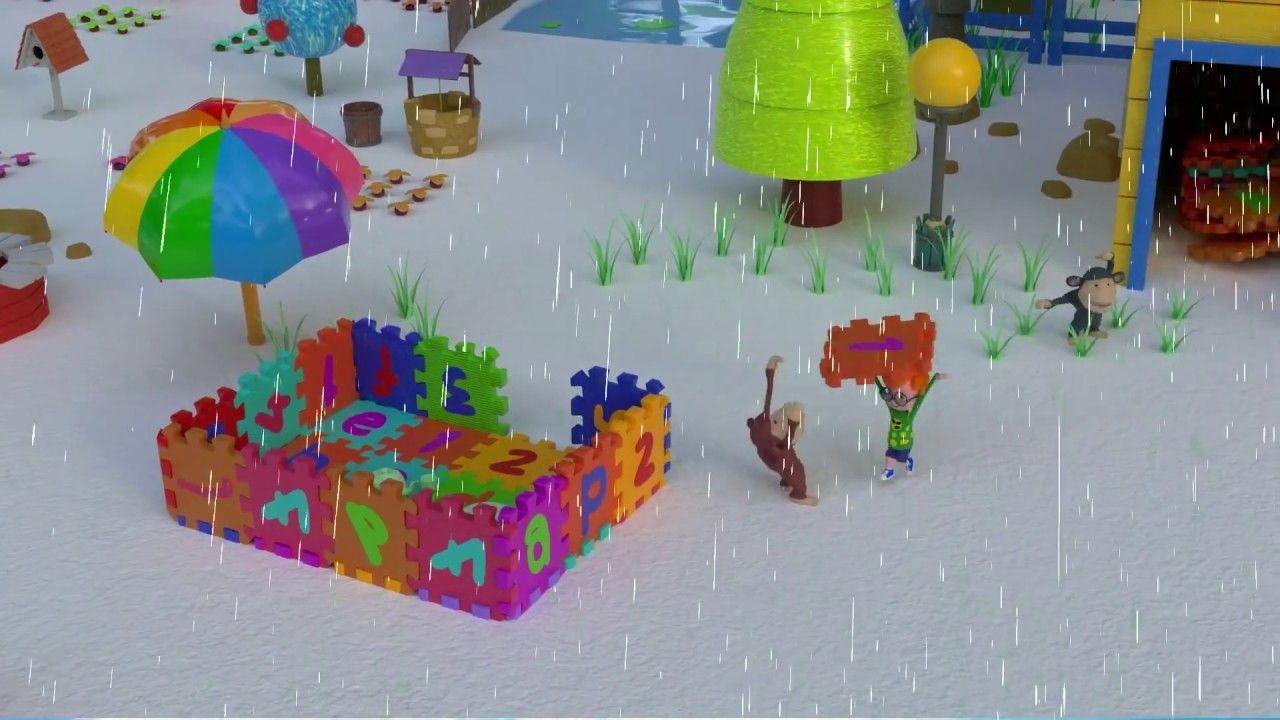 URI, OTIS & MONKEY BUILDS ABC PLAYHOUSE Cartoon for Kids