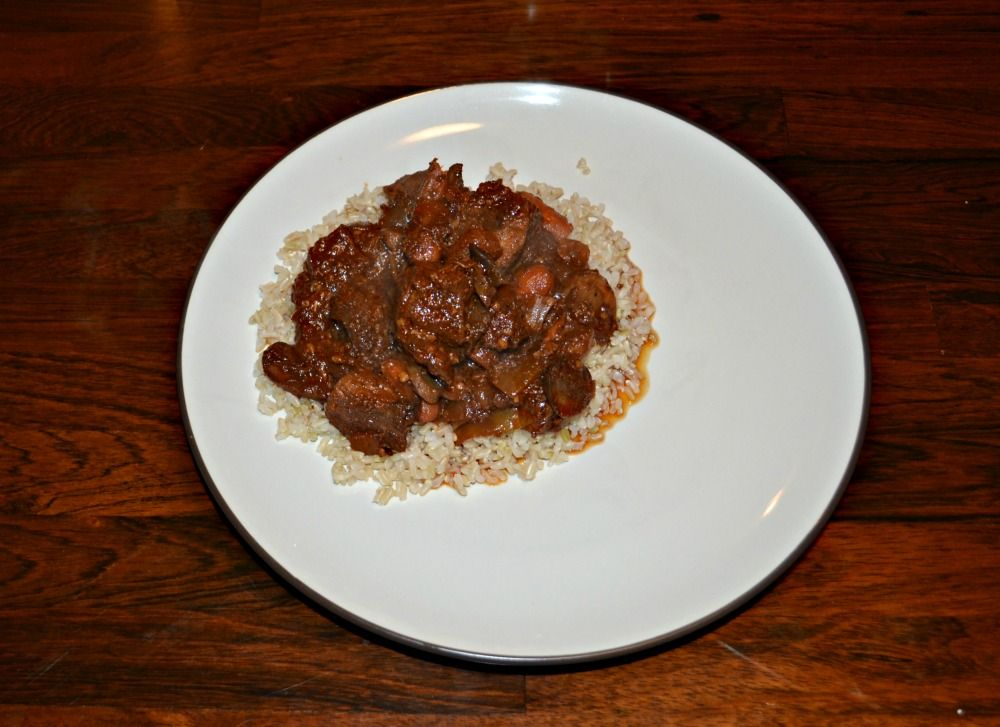 Slow Cooker Beef Marsala Stew is a cold winter favorite