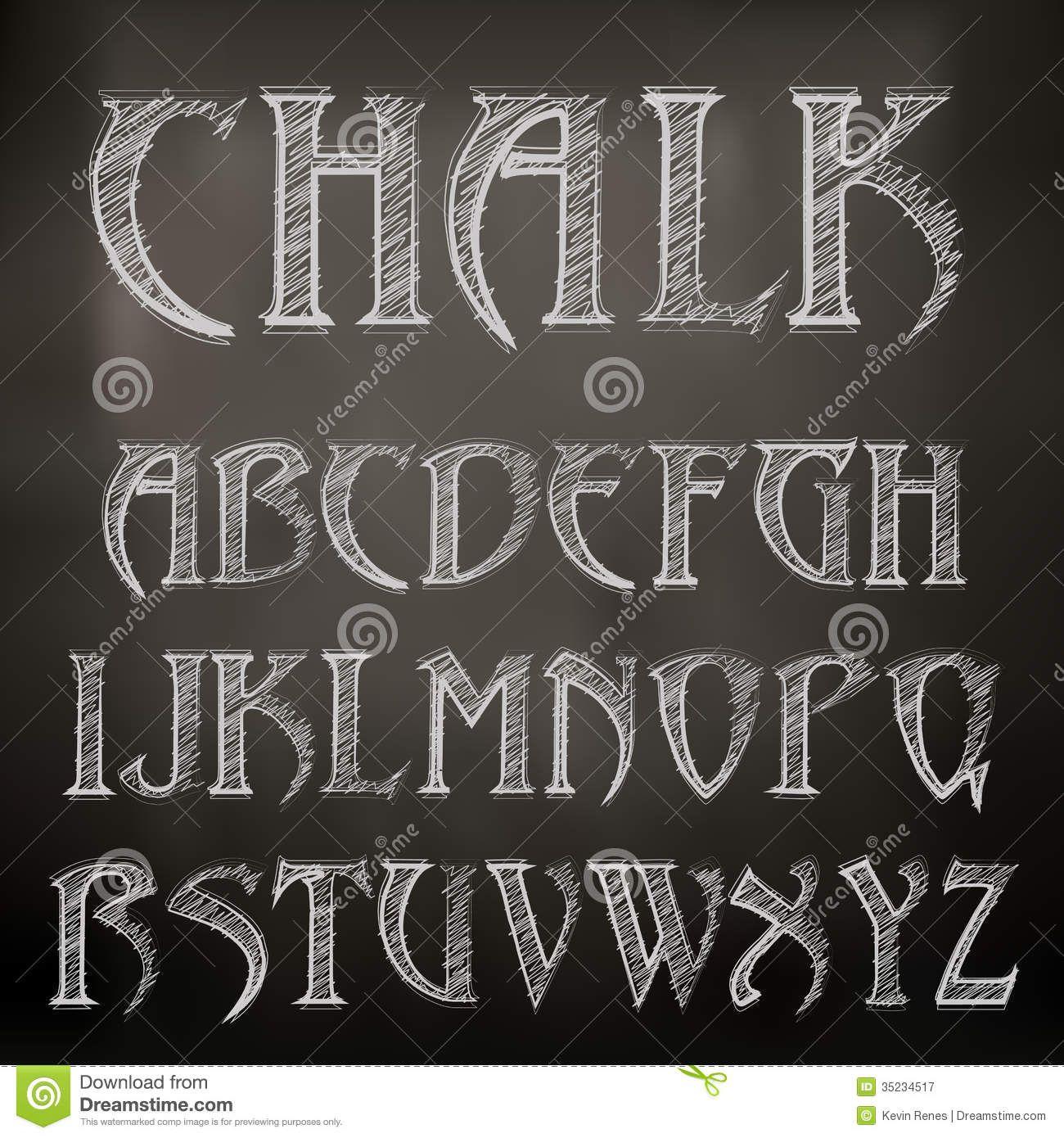 chalkboard font