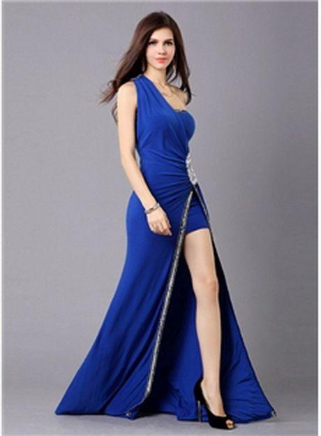 Vestido Azul Rey Largo Buscar Con Google En 2019