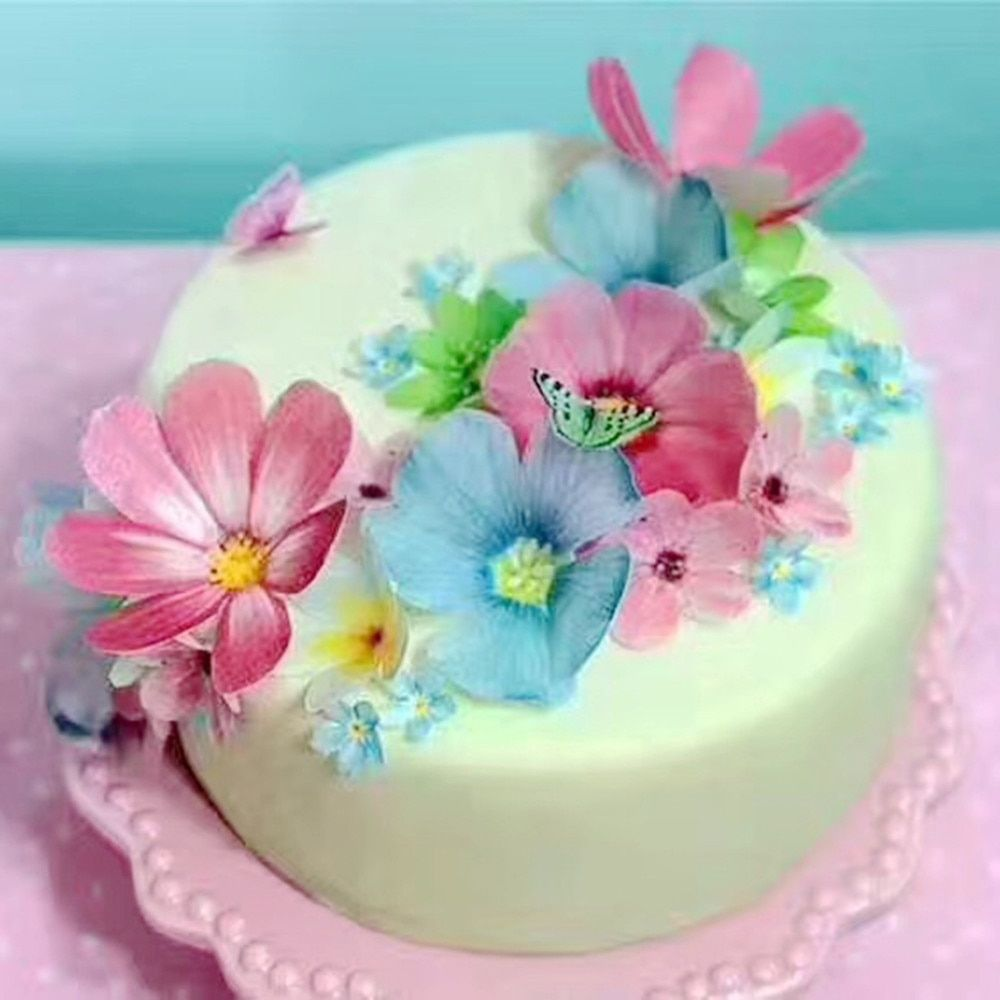 Butterfly Cake Decorations Kue