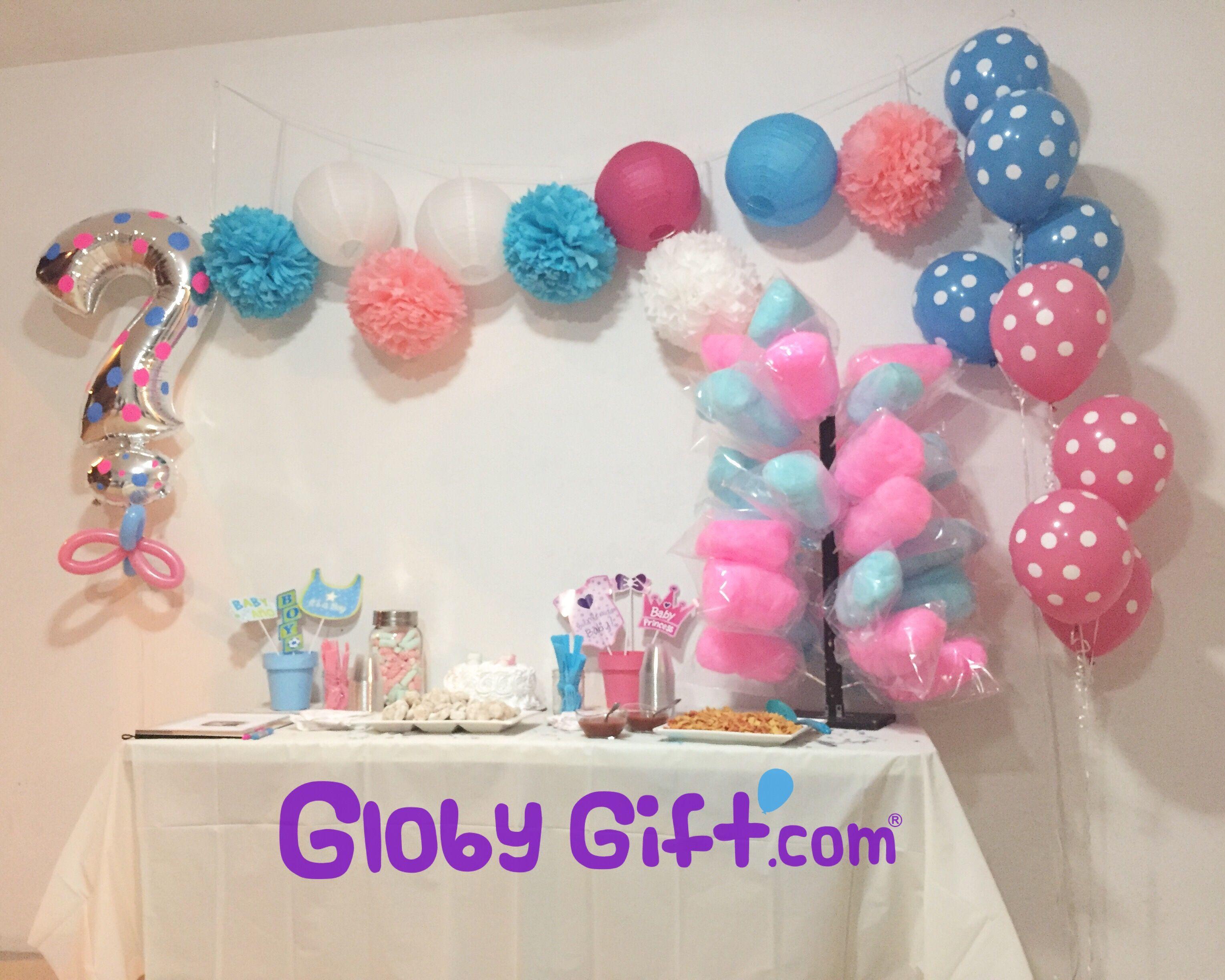 Globos para decorar fiesta de revelacin del sexo del beb Balloon
