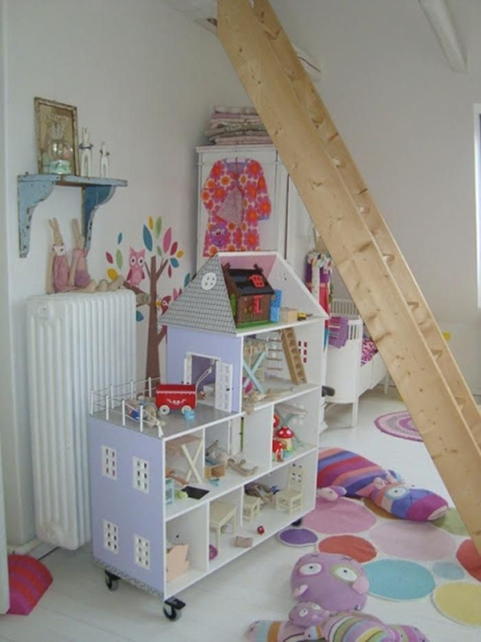 Dollhouseinspo kinderzimmer pinterest kinderzimmer puppen und puppenstube - Ikea puppenhaus mobel ...