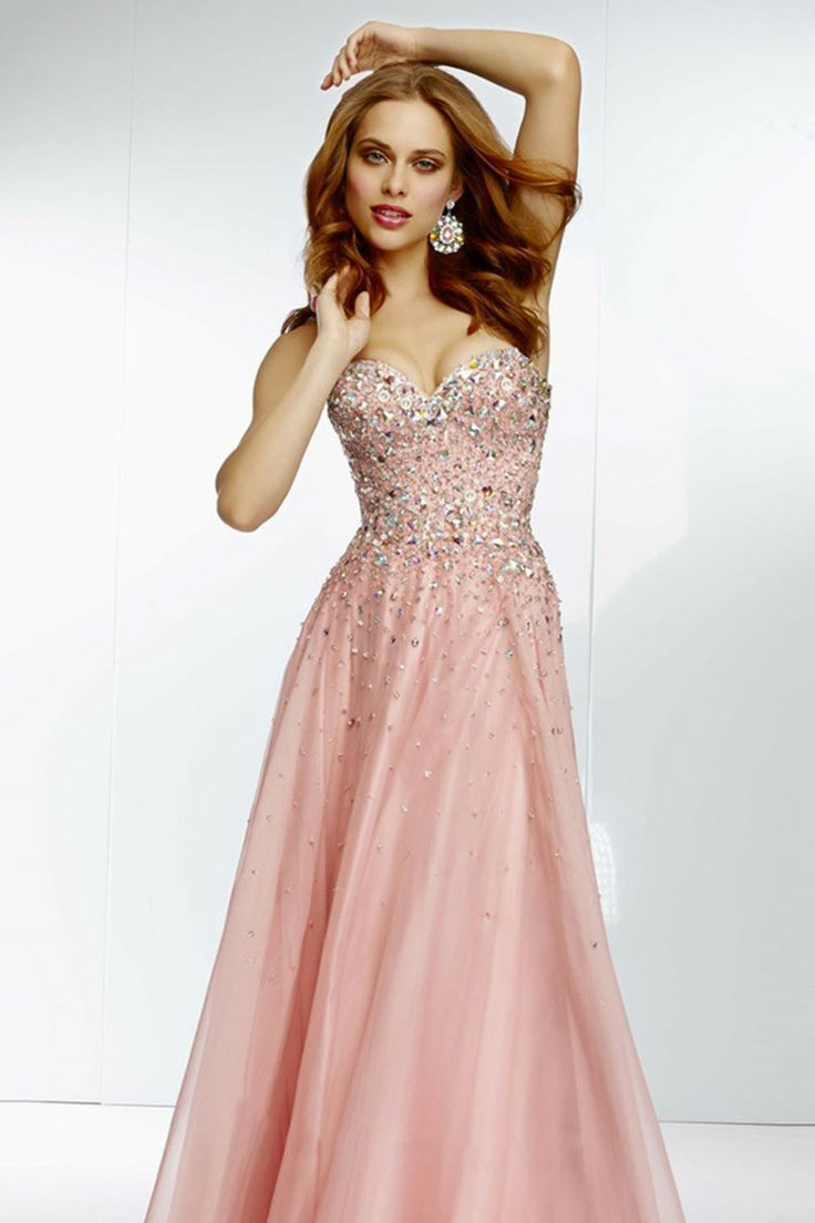 Nice Silver Party Dresses Shop 2014 Prom Dresses A Line Sweetheart ...