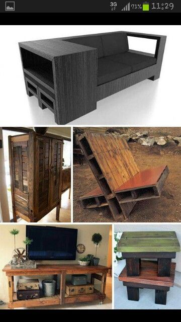 More pallet ideas Things I will make Pinterest Palette