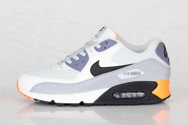 Nike Air Max 90 Essential Light Base Grey Iron Purple