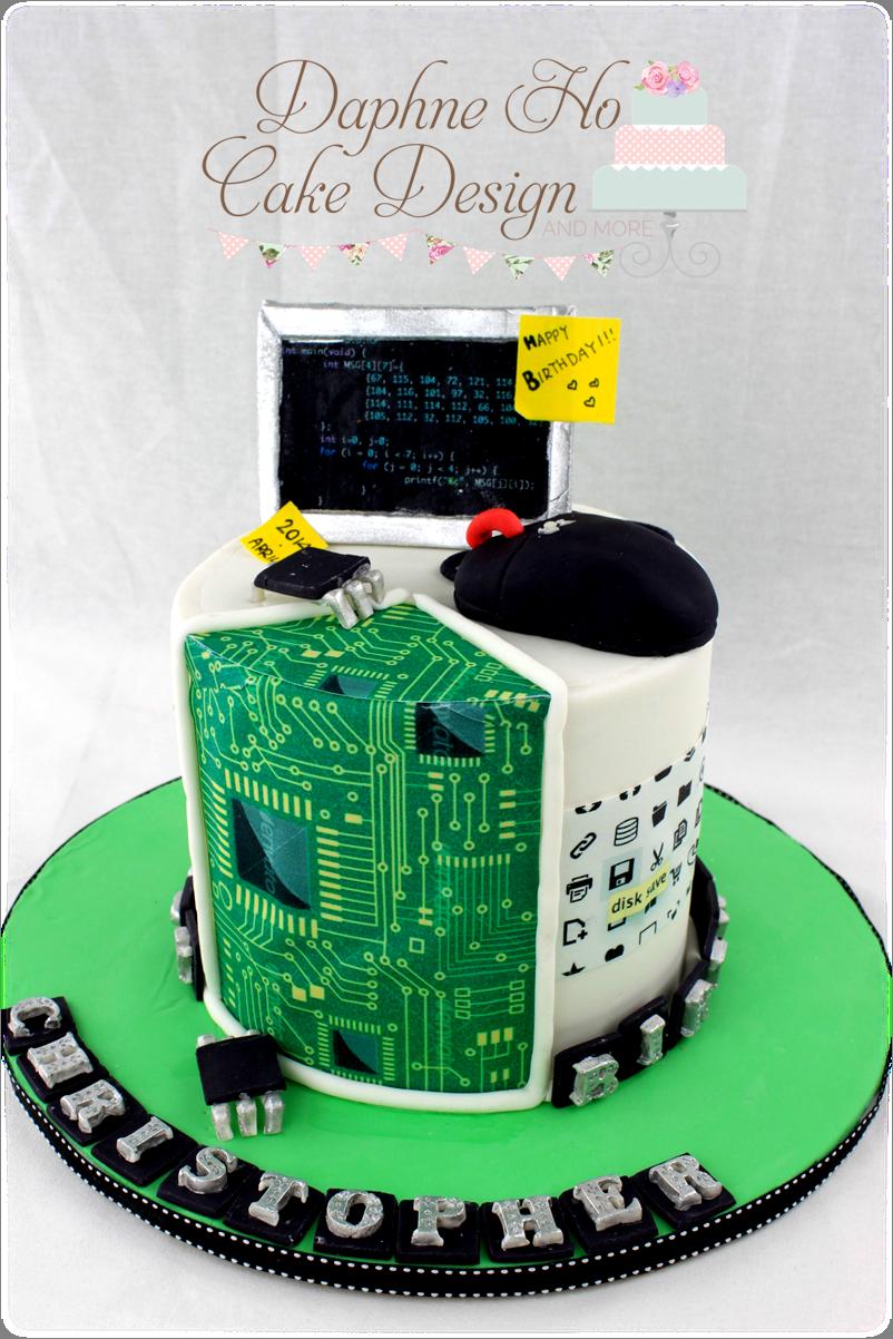 Computer cake 3 [Daphne Ho Cake Design] Cakes ...