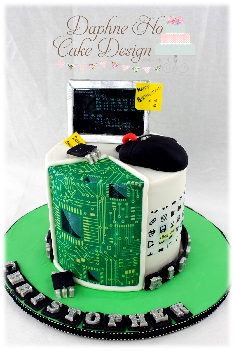 Computer Cake 3 Daphne Ho Cake Design Cakes In 2018