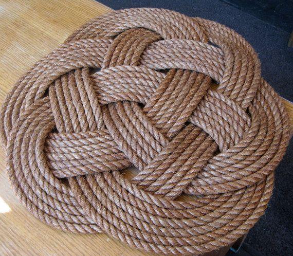 Rope Rug Decoracao