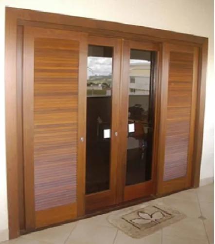 Wooden Balcony Door Sliding 214 X 200 Balcony Room – R$ 1….