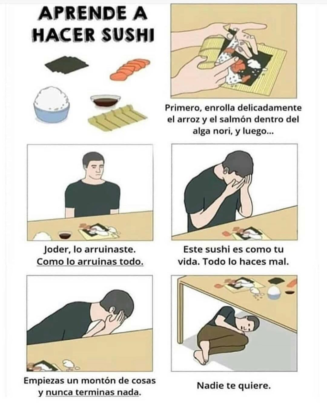 Meme Memeenespanol Memes Chile Memeslatinos Memesespanol Argentina Peru Uruguay Paraguay Bolivia Ecuador Ve How To Make Sushi Kpop Funny Haha Funny