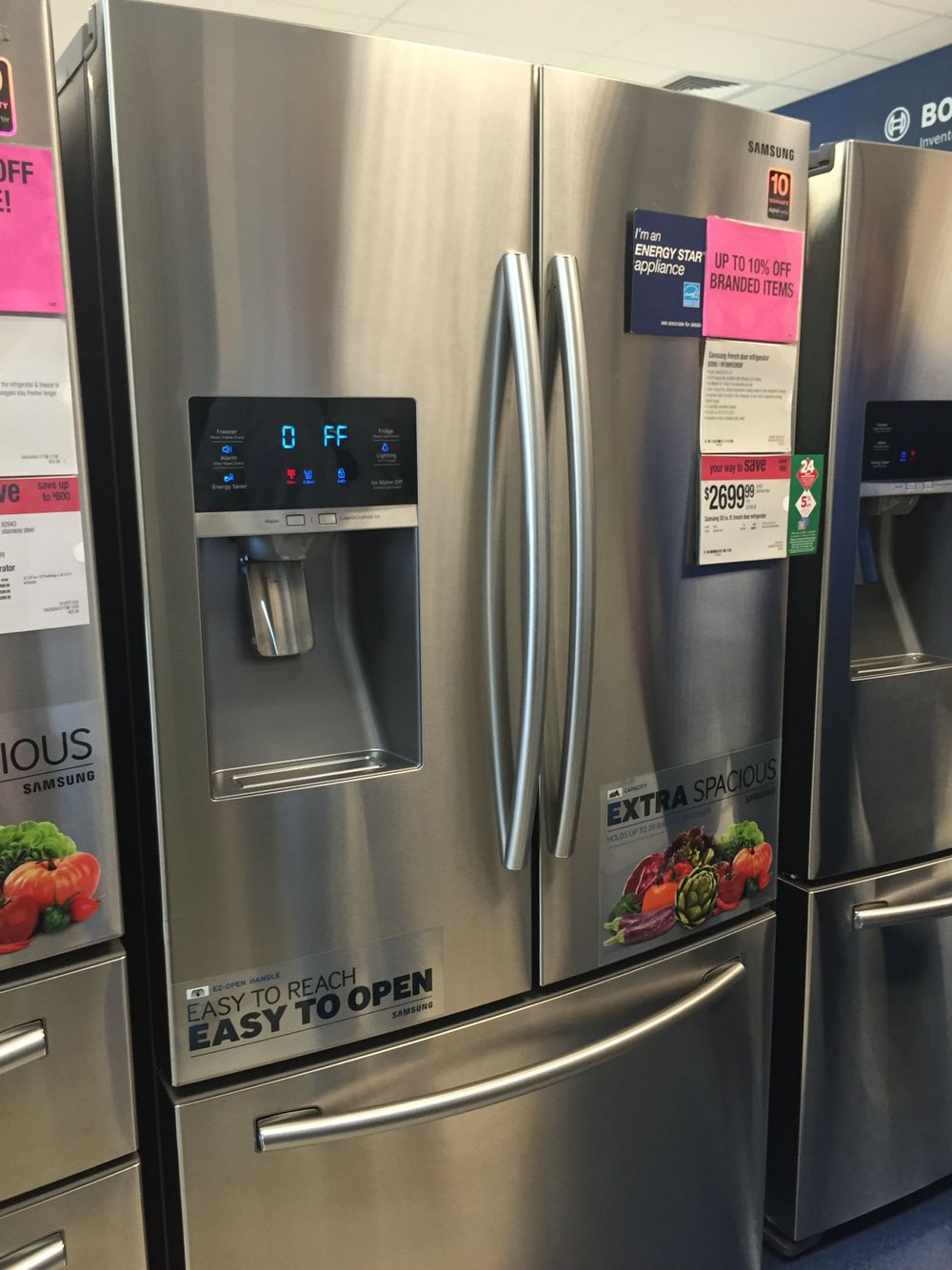 Sears More Expensive Fridge Energy Star Appliances Kitchen
