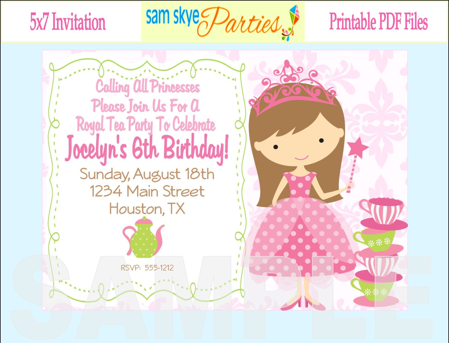 Blue and Brown Baby Shower Invitation, Boy Baby Shower Invitation ...