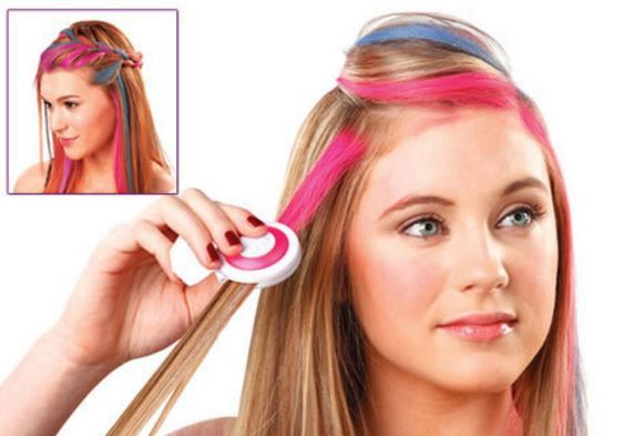 Chalk and washable hair products are suitable for kids | hair styles ...