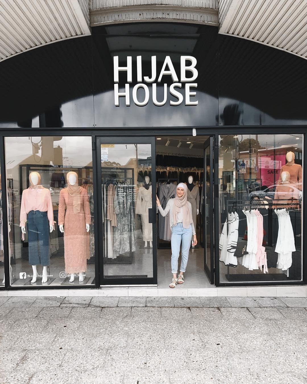 Dekorasi Toko Hijab