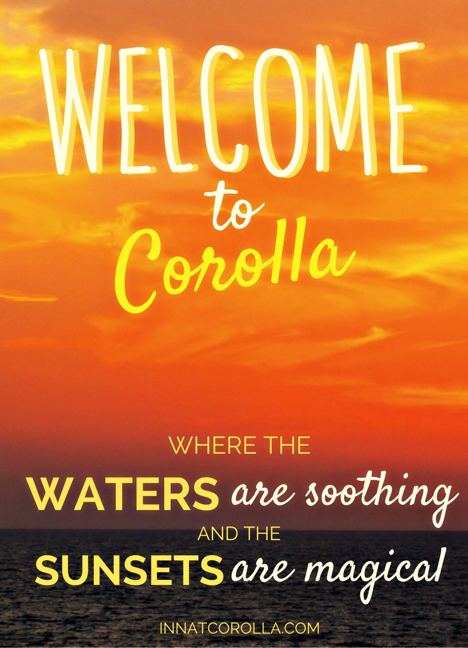 I Inn The Corolla Light Inn Magine Your Dream Destination Overlooking The  Currituck Sound Where The