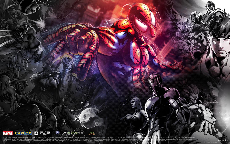 Marvel Vs Capcom 3 Wallpaper By Cporsdesigns On Deviantart
