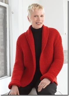 Wool Sweater Jacket for National Sweater Day :: Free Knitting ...