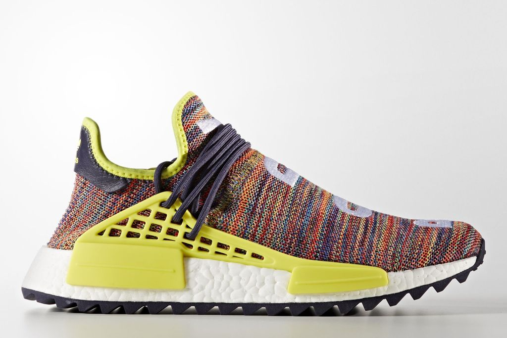 Multicolor Pharrell adidas NMD Human Race PReview | Nmd, Style icons and  Adidas