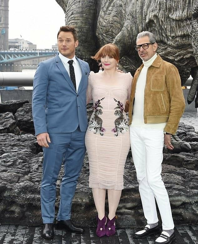 Bryce Dallas Howard is now in London to promote Jurassic